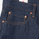 Мужские джинсы Han Kjobenhavn Tapered 17 Oz Dark Blue Raw Unwashed фото- 2