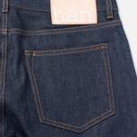 Мужские джинсы Han Kjobenhavn Tapered 17 Oz Dark Blue Raw Unwashed SS15 фото- 3