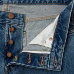 Мужские джинсы Han Kjobenhavn Tapered 17 Oz Heavy Stone фото- 2