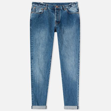Han Kjobenhavn Tapered 17 Oz Men's Jeans Medium Blue