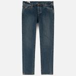 Мужские джинсы Han Kjobenhavn Tapered 17 Oz Medium Blue фото- 0