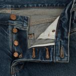 Мужские джинсы Han Kjobenhavn Tapered 17 Oz Medium Blue фото- 2