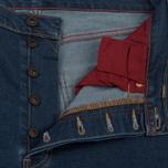 Мужские джинсы Levi's Skateboarding 501 Original 5 Pocket Indigo Rinse фото- 1