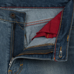 Мужские джинсы Levi's Skateboarding 504 Straight Fit 5 Pocket Del Sol фото- 3