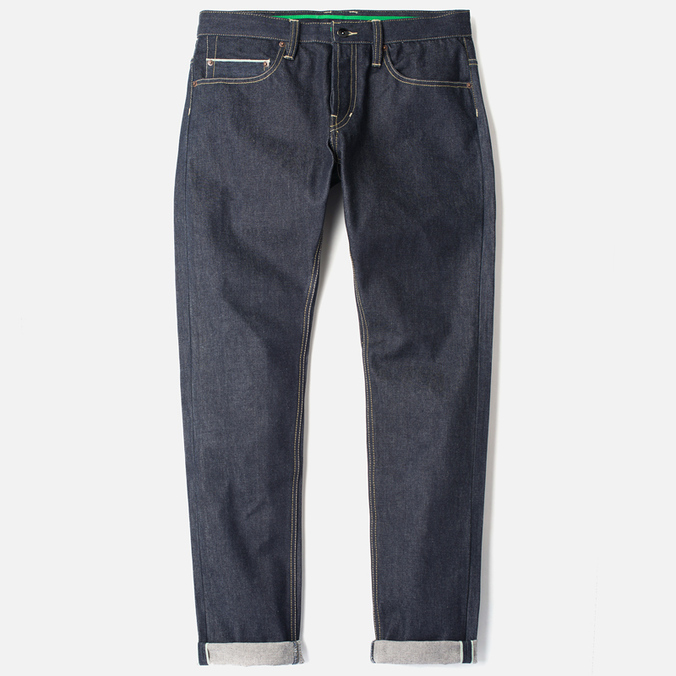 Мужские джинсы MA.Strum 2200 Slim Raw Selvage Indigo