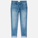 Nanamica 5 Pockets Tapered Bleach Men's Jeans Wash photo- 0
