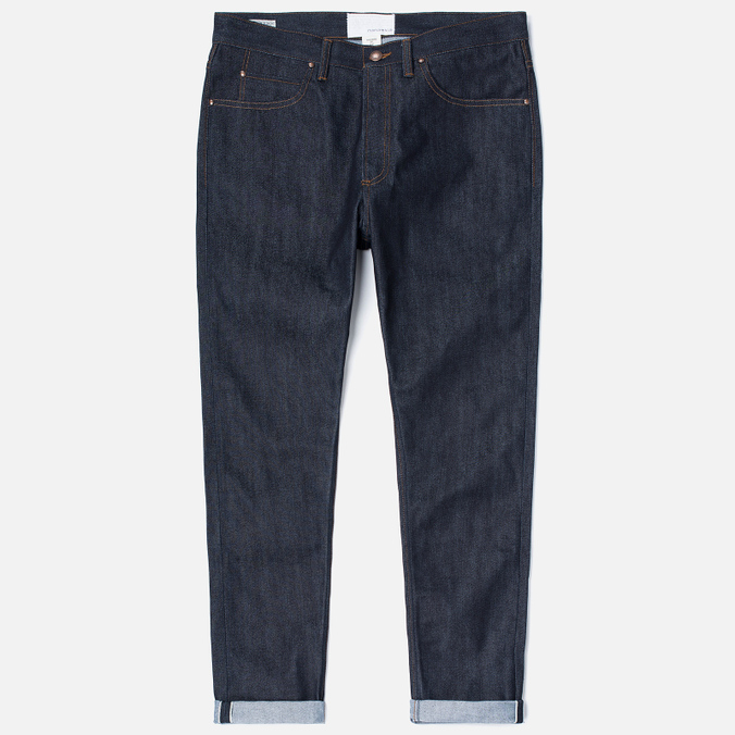 Мужские джинсы Nanamica 5 Pockets Tapered Indigo
