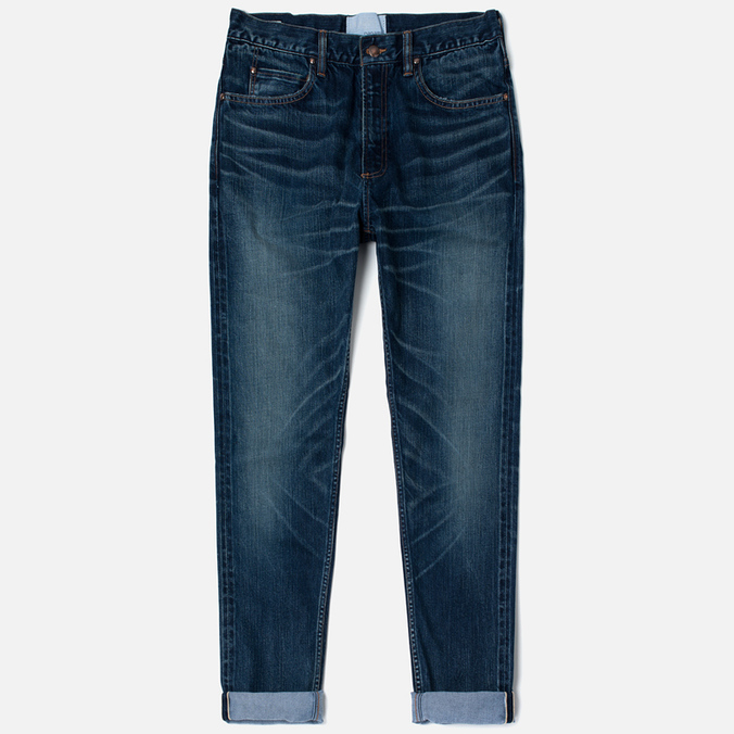 Nanamica 5 Pockets Tapered Vintage Men's Jeans Wash