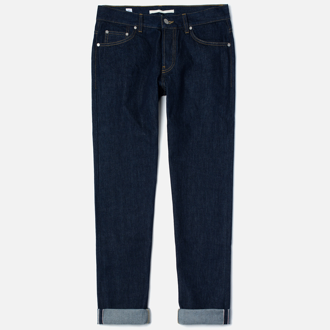 Мужские джинсы Norse Projects Regular Denim 13.5 Oz Rinsed Indigo