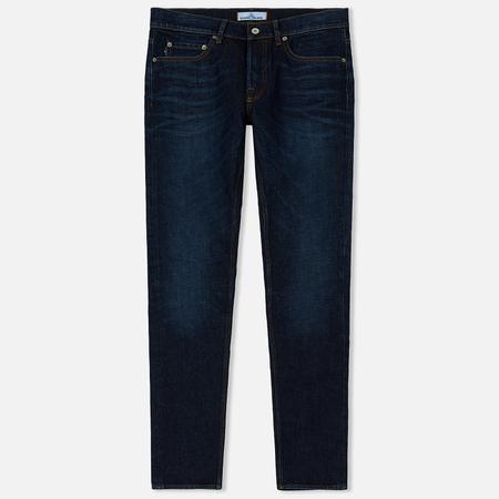 Мужские джинсы Stone Island Five Pockets Stretch Blue Denim 11 Oz Stone Washed Blue