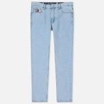 Мужские джинсы Tommy Jeans Crest Dad Light Blue Denim фото- 0