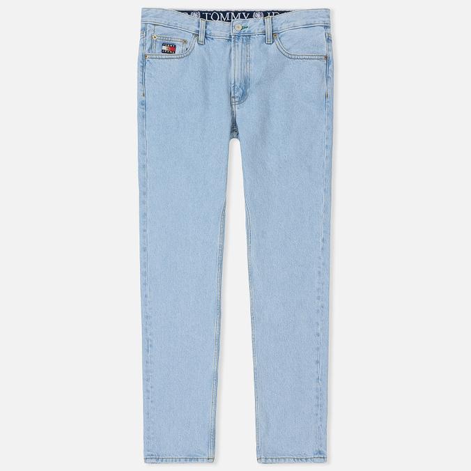 Мужские джинсы Tommy Jeans Crest Dad Light Blue Denim