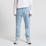 Мужские джинсы Tommy Jeans Crest Dad Light Blue Denim фото- 1