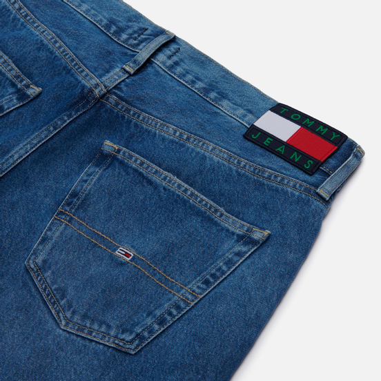 Мужские джинсы Tommy Jeans Rey Faded Tapered Fit 12 Oz Save 20 Mid Blue Rig