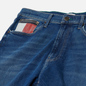 Мужские джинсы Tommy Jeans Rey Relaxed Tapered Fit 12.5 Oz Save Mid Blue Star фото - 1