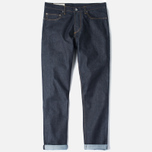 Мужские джинсы Universal Works Workshop Slim Fit Selvedge Indigo фото- 0