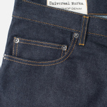 Мужские джинсы Universal Works Workshop Slim Fit Selvedge Indigo фото- 2