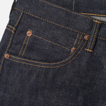 Мужские джинсы Edwin ED-55 Relaxed Nihon Menpu Rainbow Listed Selvage Blue Unwashed фото- 1