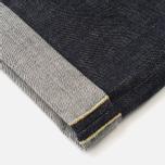 Мужские джинсы Edwin ED-55 Relaxed Nihon Menpu Rainbow Listed Selvage Blue Unwashed фото- 4