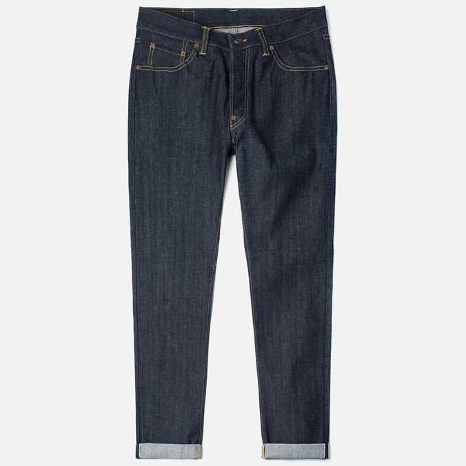 Мужские джинсы Edwin Nashville Red Listed Selvage Blue Unwashed