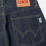 Мужские джинсы Edwin Nashville Red Listed Selvage Blue Unwashed фото- 3