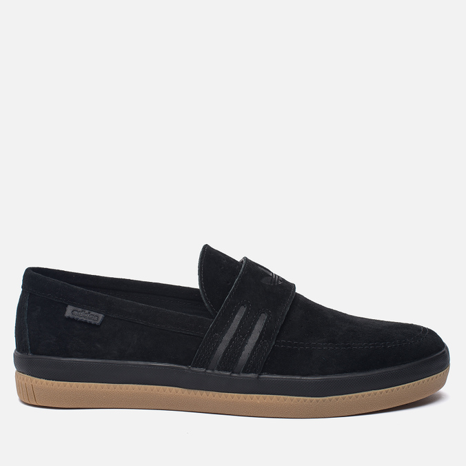Мужские кеды adidas Originals Acapulco Loafer Slip-On Core Black/Core Black/Gum