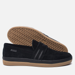 Мужские кеды adidas Originals Acapulco Loafer Slip-On Core Black/Core Black/Gum фото- 1