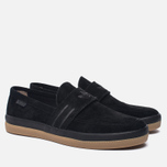 Мужские кеды adidas Originals Acapulco Loafer Slip-On Core Black/Core Black/Gum фото- 2