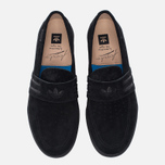 Мужские кеды adidas Originals Acapulco Loafer Slip-On Core Black/Core Black/Gum фото- 4