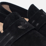 Мужские кеды adidas Originals Acapulco Loafer Slip-On Core Black/Core Black/Gum фото- 5