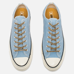 Converse Chuck Taylor All Star Jewelled Egg Plimsoles Ambient Blue/Solar Orange photo- 4