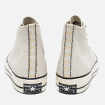 Мужские кеды Converse Chuck Taylor All Star Jewelled Egg Hi White/Egret/Cactus Blossom фото- 5