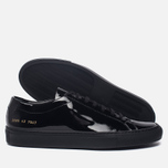 Мужские кеды Common Projects Achilles Low Gloss Black фото- 1