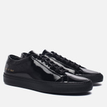 Мужские кеды Common Projects Achilles Low Gloss Black фото- 2