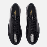 Мужские кеды Common Projects Achilles Low Gloss Black фото- 4