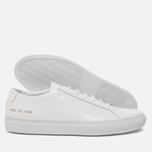 Мужские кеды Common Projects Achilles Low Gloss White фото- 1