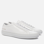 Мужские кеды Common Projects Achilles Low Gloss White фото- 2
