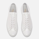 Мужские кеды Common Projects Achilles Low Gloss White фото- 4