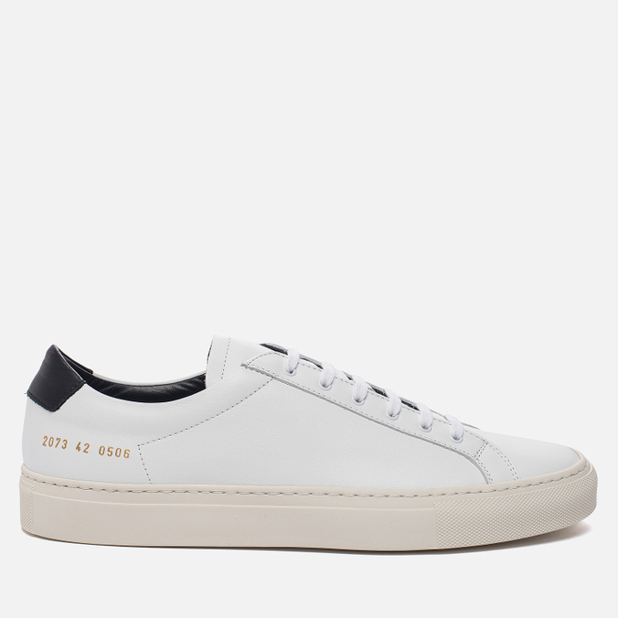 Мужские кеды Common Projects Achilles Retro Low White