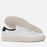 Мужские кеды Common Projects Achilles Retro Low White фото- 1