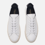 Мужские кеды Common Projects Achilles Retro Low White фото- 4