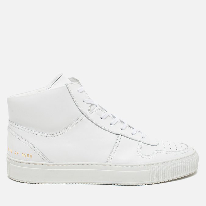 Common Projects B-Ball High Leahter Men's Plimsoles White