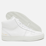 Мужские кеды Common Projects B-Ball High Leahter White фото- 2