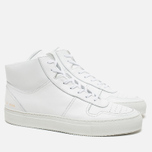 Мужские кеды Common Projects B-Ball High Leahter White фото- 1