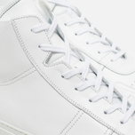 Мужские кеды Common Projects B-Ball High Leahter White фото- 5