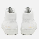 Common Projects B-Ball High Leahter Men's Plimsoles White photo- 3