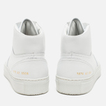 Мужские кеды Common Projects B-Ball High Leahter White фото- 3