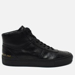Мужские кеды Common Projects B-Ball High Leather Black фото- 0