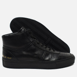 Мужские кеды Common Projects B-Ball High Leather Black фото- 2