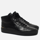 Мужские кеды Common Projects B-Ball High Leather Black фото- 1